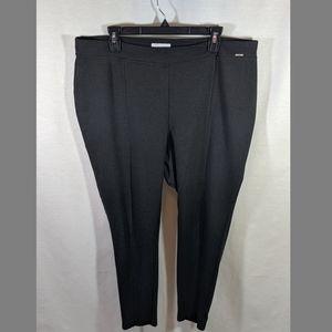 Calvin Klein Plus Size Pleated Legging